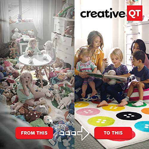 toys, games, kids' furniture, décor, storage, toy chests, storage,  toy bags, nets 10 discount Creative QT Stuffed Animal Storage Bean Bag Chair in USA