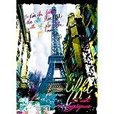 Kaly Magique Eiffel Tower Paris France Pop Art Poster Print 19.5 x 27.5 inches