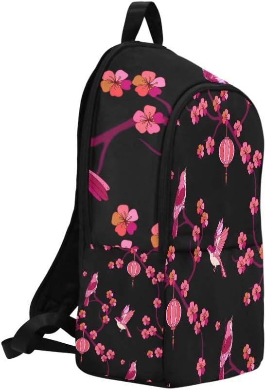 Sac /À Dos Emballable Kawaii Japonais Belle Sakura Durable R/ésistant /À leau Classique Petit Coll/ège Sac Bookbag Grands Gar/çons Sac De Voyage Randonn/ée Bandouli/ère Sac