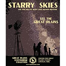 Starry Skies Great Plains Ecotourism Poster