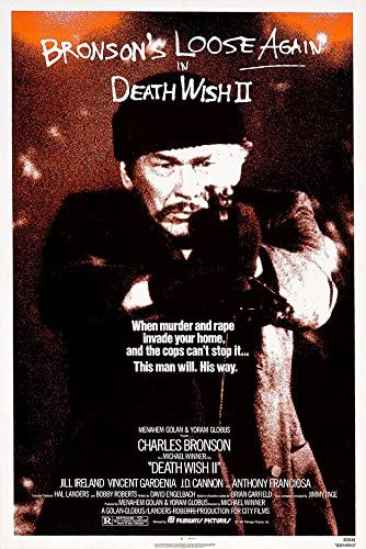 Death Wish Movie Poster 24x36