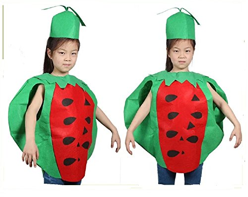 Kids Fruits Vegetables and Nature Costumes Suits Outfits Fancy Dress Party Boys and Girls -