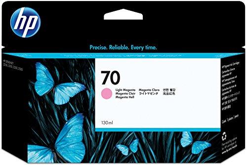 HP 70 Light Magenta 130 Ml Ink Crtg Use In Selected Hp Designjet Printers.