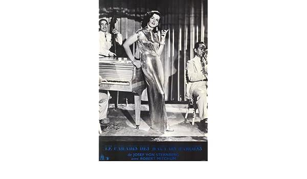 MACAO Movie POSTER 27x40 B Robert Mitchum Jane Russell William Bendix Thomas