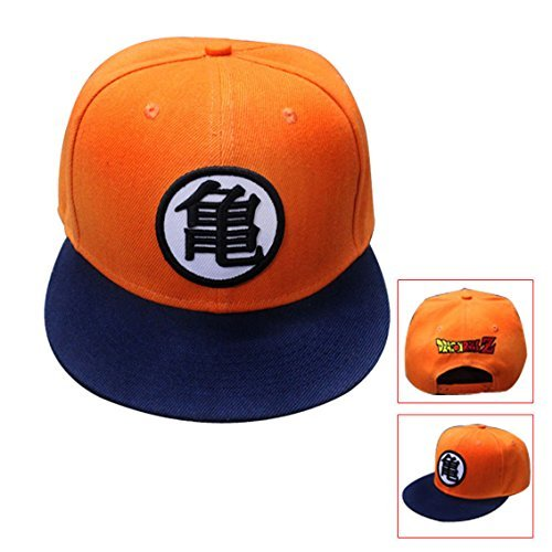 [Ilucky Anime Dragon Ball Z Goku Baseball Cap Anime Hats Baseball Cap (02)] (Baseball Girl Costume)