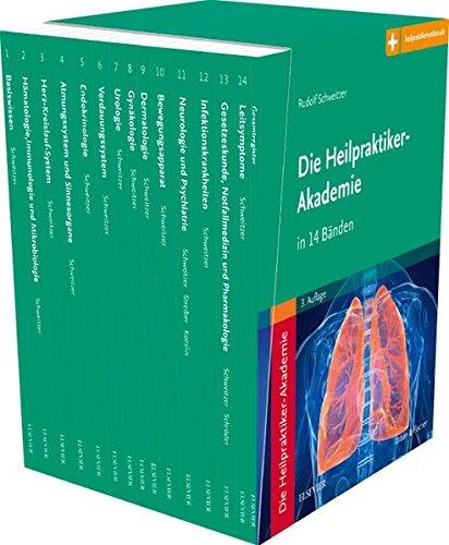Die Heilpraktiker-Akademie in 14 Bänden: Mit Zugang zur Medizinwelt