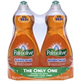 Palmolive Ultra Anti-Bacterial Dish Wash Liquid, 25 Ounce, 2 Count