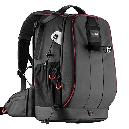 Neewer Pro Camera Case Waterproof Shockproof Adjustable Padded Camera Backpack Bag with Anti-theft...