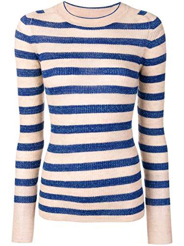 Cachemir Mujer 6094myknitbluette Suéter Forte Azul TpFnU