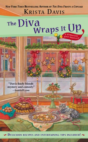 The Diva Wraps It Up (A Domestic Diva Mystery Book 8)