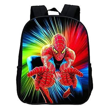 Moda 12 Pulgadas de impresión Cool Hero Spiderman niños Mochilas Escolares de Dibujos Animados bebés niños