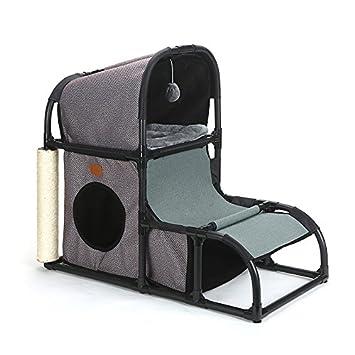 HOME STYLE Cat Bed Cave | Acogedora casa iglú para Gatos Grandes, Gatitos y Pequeños| Acogedor Lugar para Dormir para su Mascota: Amazon.es: Productos para ...