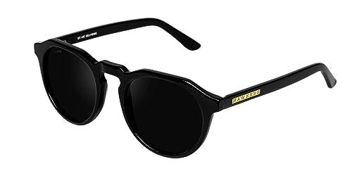 Hawkers Diamond Black Dark Warwick X, Gafas de Sol Unisex,Negro