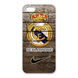 Real Madrid Fashion Comstom Plastic case cover For Iphone 5s