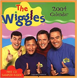 Amazon.com: The Wiggles 2004 Wall Calendar (9780740737572
