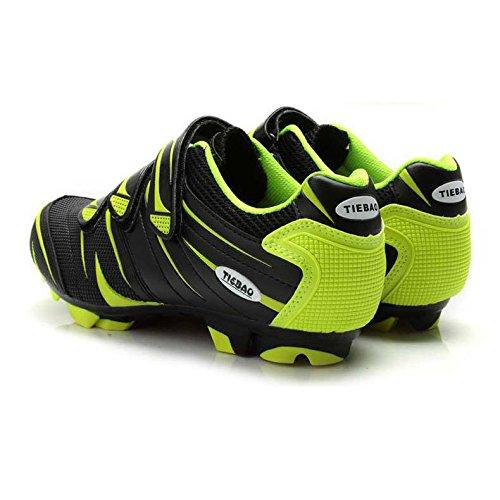 byency (TM) Tiebao Professional per scarpe da uomo e donna per MTB Mountain  Bike scarpe autobloccanti nylon-fibreglass suola scarpe sportive 5a67ba7b183