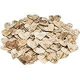 NaDeco® Birkenrinden Herzen 4cm 80Stk. | Birkenherz | Birken Herzen | Herzen aus Birkenrinde | Dekoherzen | Streuherzen | Holzherzen | Streuteile