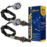 2pcs Upstream Air Fuel Ratio Sensors 234-9016 O2 Sensor 1 for 1999-2005 Jaguar XJ8 XJR V8-4.0L, for 1999-2005 Jaguar Vanden Plas V8-4.0L