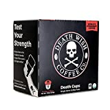 DW Coffee Death Wish Coffee K Cups,18 Count (Pack of 4)