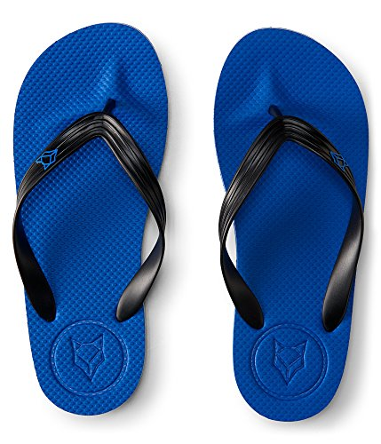 Aeropostale Menns Fyrste Og Rev Fast Logo Vippen Ensartet Blå sko