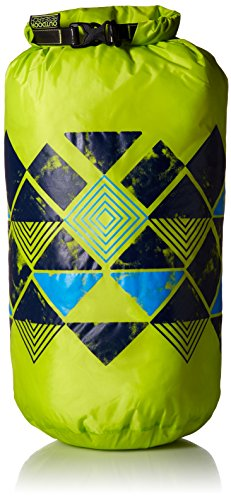 Outdoor Research Graphic Dry Sack 20L Abstract Wrap Bag, Lemongrass, 1size