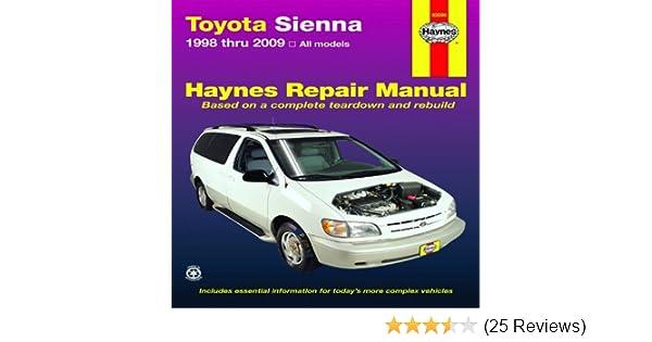 2009 toyota sienna repair manual