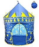 Star Castle Prince House Indoor Boys Blue Tent Ourdoor Kids Play Hut by POCO DIVO