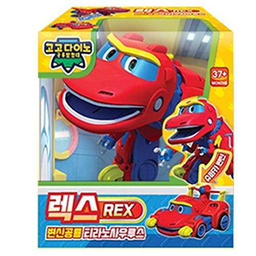 GOGO DINO, New Season Dinosaur Expedition Transforming Robot Dinosaur Tyrannosaurus REX -
