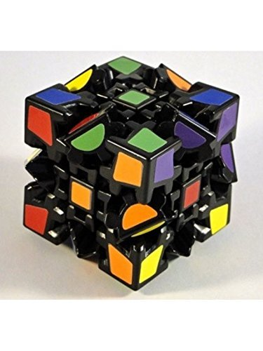 Elstey Magic Combination 3d Gear Cube I Generation Black Painted Stickerless Twisty Puzzle (Cube Puzzle Gear)