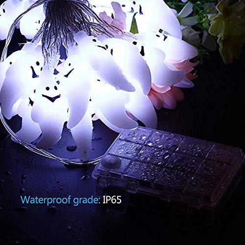 Glumes Ghost String Lights -20 LEDs 2M for