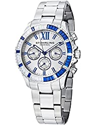 Stuhrling Original Womens 591.01 Vogue Coronia Analog Display Swiss Quartz Silver Watch