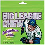 Big League Chew Sour Apple Bubble Gum - 2.1 oz (24 pack)