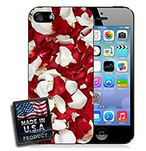 Rose Petals Red White Romantic Sexy Love Relationship iPhone 5/5s Hard Case