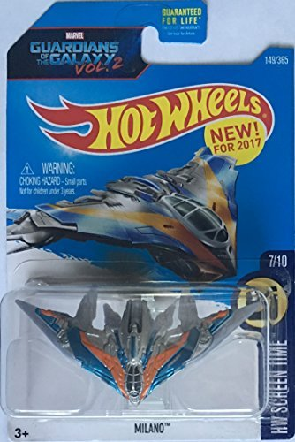 Hot Wheels 2017 HW Screen Time Marvel Guardians of the Galaxy Vol. 2 Milano Spaceship 149/365