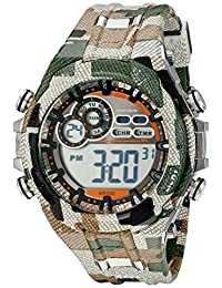 Armitron Sport Men's 40/8188MIL Digital Chronograph Camouflage Patterned Resin Strap Watch