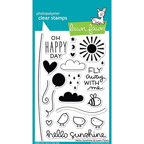 Lawn Fawn Clear Stamp - Hello Sunshine (LF651)
