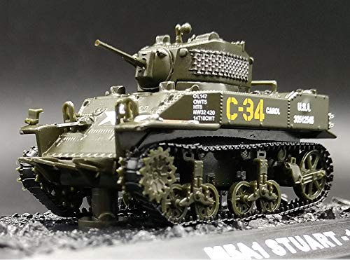 FloZ WWII American M5A1 1/72 Finished Model Tank Stuart ()