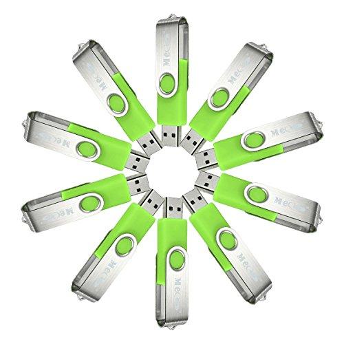 1g Flash (MECO(TM) 10Pcs 1GB 1G USB 2.0 Flash Drive Memory Stick Fold Storage Thumb Stick Pen Swivel Design)