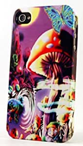 Magic Mushroom Kingdom Dimensional Case Fits Case For Iphone 5/5S Cover
