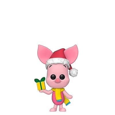 Funko Pop! Disney: Holiday - Piglet: Toys & Games