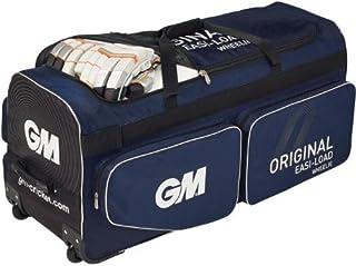 New Gunn & Moore Original Cricket Easi-load Wheeling Holdall Wheelie Bag 4184 by Gunn & Moore