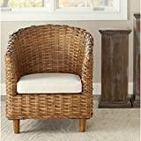 Safavieh Home Collection Omni Honey Barrel Chair