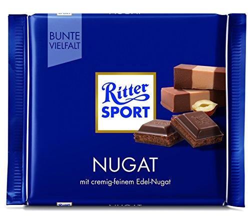 Ritter Sport 100 g Nugat Tafelschokolade, 13er Pack (13 x 100 g)