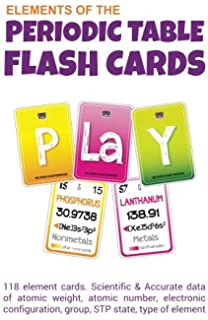 The periodic table flashcards elements with style basher science elements of periodic table flash cards urtaz Gallery