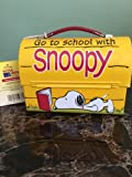 QHM8905 Hallmark School Days Snoopy Doghouse Collectible Lunchbox LE