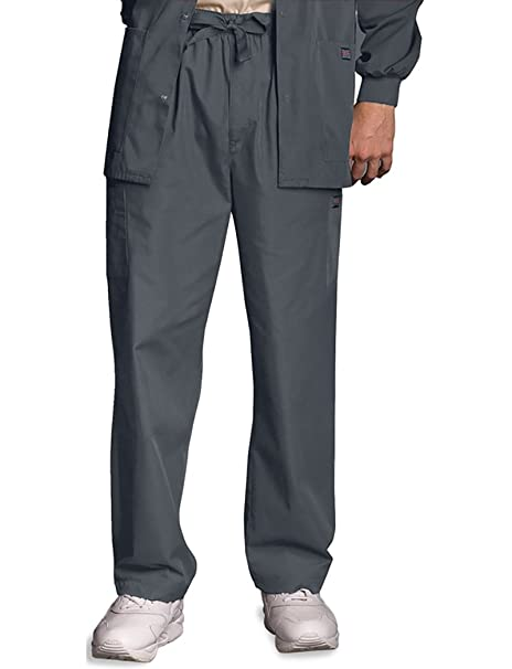 5eb7587c5ac Image Unavailable. Image not available for. Color: Cherokee Workwear Men's  4000 Drawstring Cargo Scrub Pant- ...
