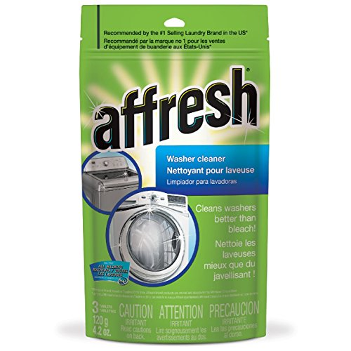 Whirlpool - Affresh High Efficiency Washer Cleaner, 3-Tablets, 4.2 - Washer Accessory Whirlpool