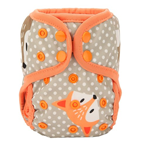 (Sigzagor Newborn Baby Diaper Nappy Cover 8lbs-10lbs (Baby Fox) )
