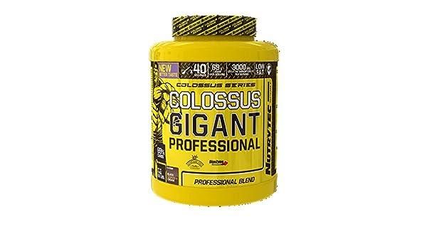 Nutrytec Platinum Series - Colossus gigant professional - 4kg - Vainilla Avellana: Amazon.es: Alimentación y bebidas