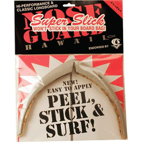 - Surfco Hawaii Super Slick Classic Longboard Grey Nose Guard Kit